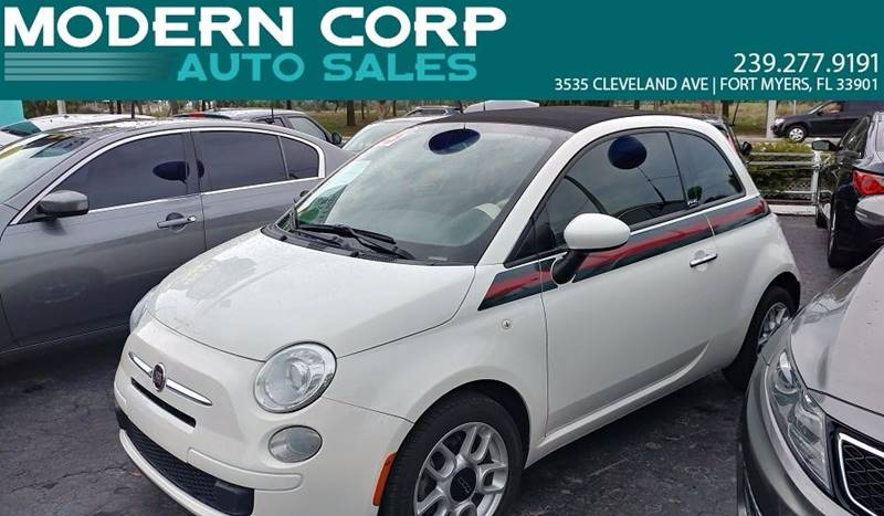 2013 FIAT 500c for sale at Modern Auto Sales in Fort Myers FL