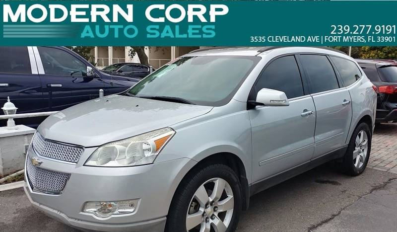 2011 Chevrolet Traverse for sale at Modern Auto Sales in Fort Myers FL