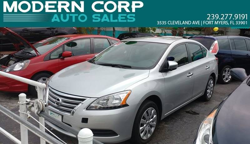 2014 Nissan Sentra for sale at Modern Auto Sales in Fort Myers FL