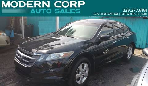 2011 Honda Accord Crosstour for sale at Modern Auto Sales in Fort Myers FL
