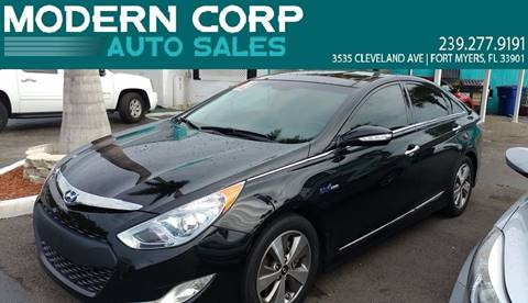 2012 Hyundai Sonata Hybrid for sale at Modern Auto Sales in Fort Myers FL