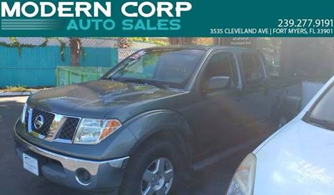 2005 Nissan Frontier for sale at Modern Auto Sales in Fort Myers FL