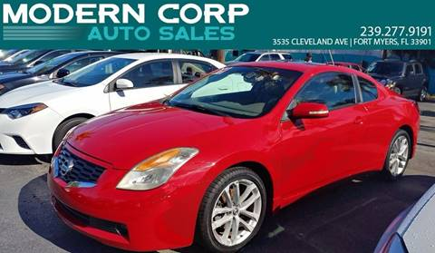 2009 Nissan Altima for sale at Modern Auto Sales in Fort Myers FL