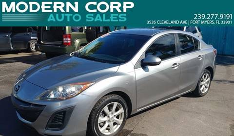 2010 Mazda MAZDA3 for sale at Modern Auto Sales in Fort Myers FL