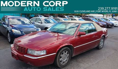 1999 Cadillac Eldorado for sale in Fort Myers, FL