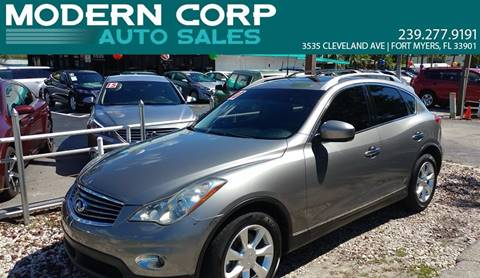 2010 Infiniti EX35 for sale in Fort Myers, FL
