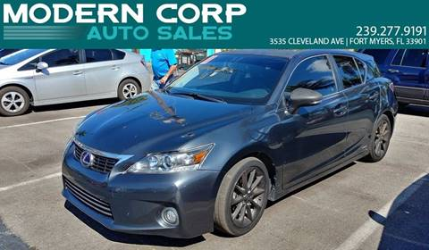 2011 Lexus CT 200h for sale in Fort Myers, FL