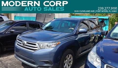 2012 Toyota Highlander for sale in Fort Myers, FL