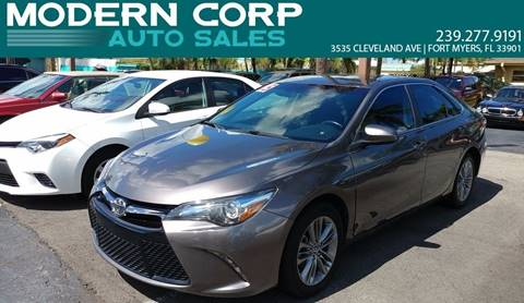2015 Toyota Camry for sale in Fort Myers, FL