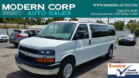 2016 Chevrolet Express Passenger for sale in Fort Myers, FL