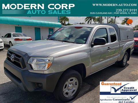 2014 Toyota Tacoma for sale in Fort Myers, FL