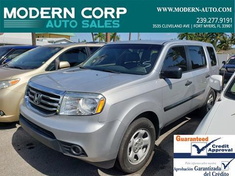 Honda Of Fort Myers >> 2012 Honda Pilot For Sale In Fort Myers Fl