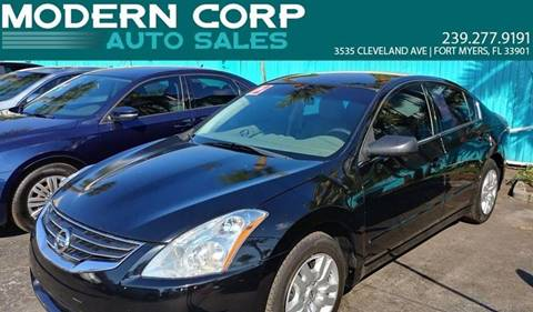 2012 Nissan Altima for sale at Modern Auto Sales in Fort Myers FL
