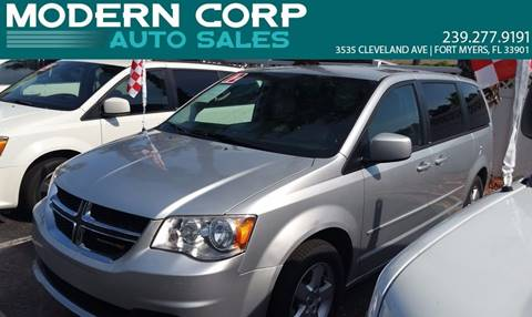 2012 Dodge Grand Caravan for sale at Modern Auto Sales in Fort Myers FL