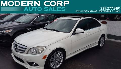 2009 Mercedes-Benz C-Class for sale in Fort Myers, FL