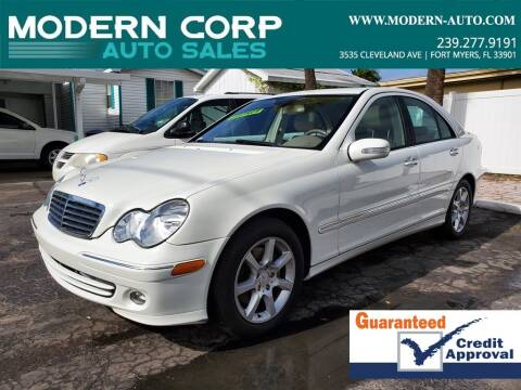 Mercedes Benz Of Fort Myers >> 2007 Mercedes Benz C Class For Sale In Fort Myers Fl