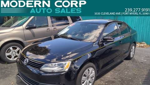 2014 Volkswagen Jetta for sale at Modern Auto Sales in Fort Myers FL
