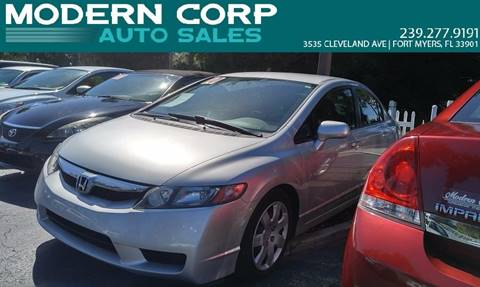 2010 Honda Civic for sale at Modern Auto Sales in Fort Myers FL