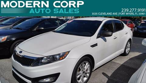 2012 Kia Optima for sale at Modern Auto Sales in Fort Myers FL