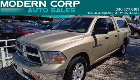 2011 RAM Ram Pickup 1500 for sale at Modern Auto Sales in Fort Myers FL