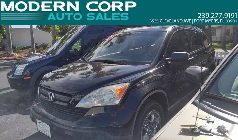 2008 Honda CR-V for sale at Modern Auto Sales in Fort Myers FL