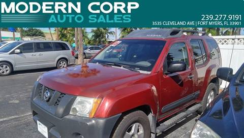 2006 Nissan Xterra for sale at Modern Auto Sales in Fort Myers FL