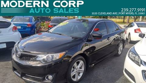 2013 Toyota Camry for sale at Modern Auto Sales in Fort Myers FL