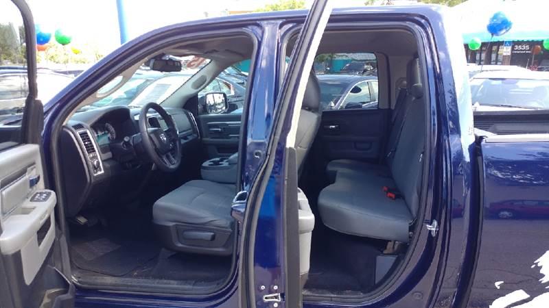 2015 RAM Ram Pickup 1500 4x2 SLT 4dr Quad Cab 6.3 ft. SB Pickup - Fort Myers FL