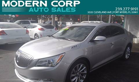 2015 Buick LaCrosse for sale at Modern Auto Sales in Fort Myers FL