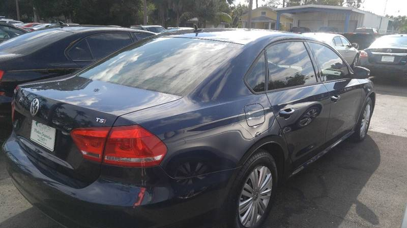 2014 Volkswagen Passat for sale at Modern Auto Sales in Fort Myers FL