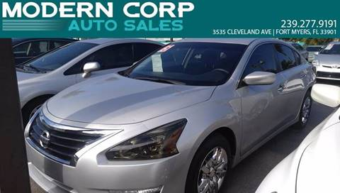 2015 Nissan Altima for sale at Modern Auto Sales in Fort Myers FL