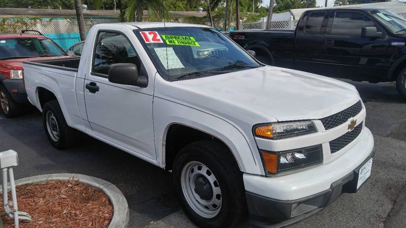 2012 Chevrolet Colorado for sale at Modern Auto Sales in Fort Myers FL