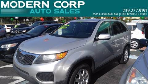2011 Kia Sorento for sale at Modern Auto Sales in Fort Myers FL