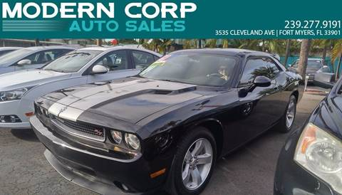 2009 Dodge Challenger for sale at Modern Auto Sales in Fort Myers FL