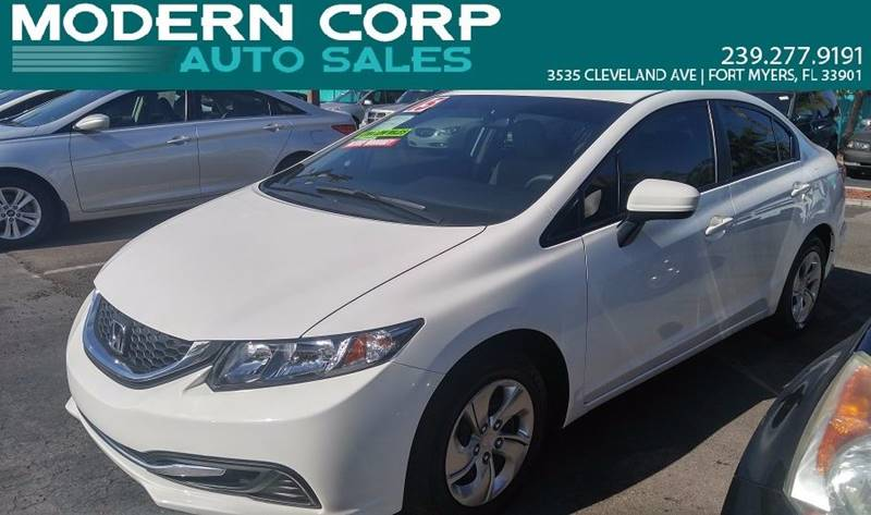 2015 Honda Civic for sale at Modern Auto Sales in Fort Myers FL