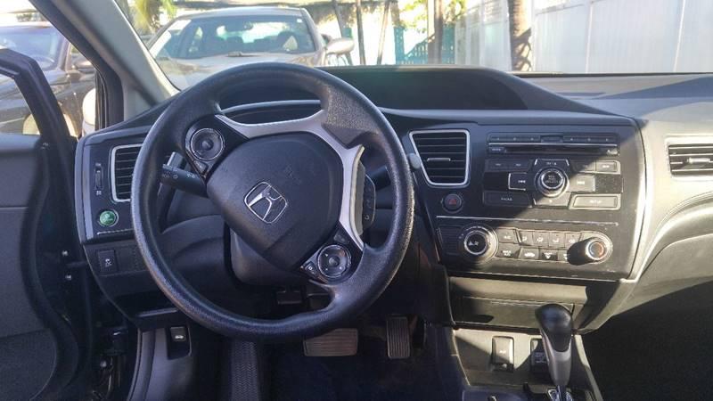 2013 Honda Civic LX 4dr Sedan 5A - Fort Myers FL