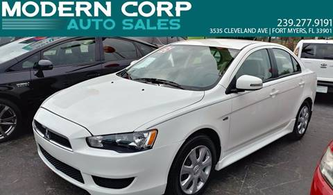 2015 Mitsubishi Lancer for sale at Modern Auto Sales in Fort Myers FL