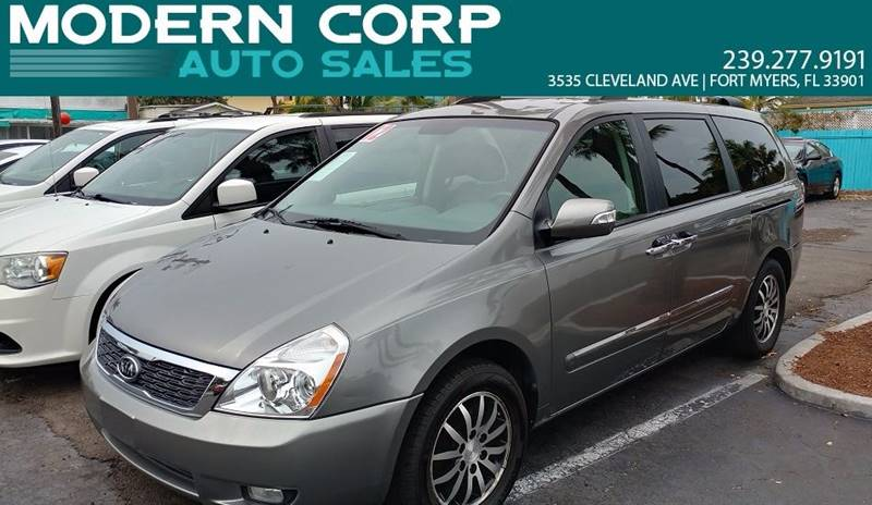 2012 Kia Sedona for sale at Modern Auto Sales in Fort Myers FL