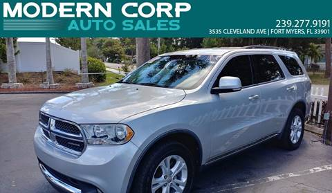 2011 Dodge Durango for sale at Modern Auto Sales in Fort Myers FL