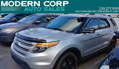 2013 Ford Explorer for sale at Modern Auto Sales in Fort Myers FL