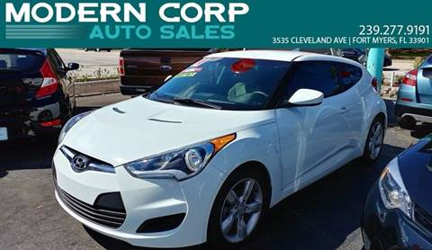 2014 Hyundai Veloster for sale at Modern Auto Sales in Fort Myers FL