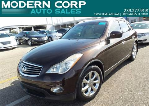 2008 Infiniti EX35 for sale at Modern Auto Sales in Fort Myers FL