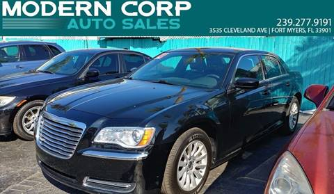 2014 Chrysler 300 for sale at Modern Auto Sales in Fort Myers FL