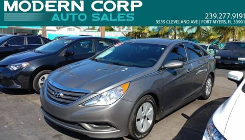 2014 Hyundai Sonata for sale at Modern Auto Sales in Fort Myers FL