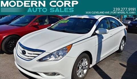 2013 Hyundai Sonata for sale at Modern Auto Sales in Fort Myers FL