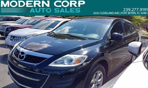 2012 Mazda CX-9 for sale at Modern Auto Sales in Fort Myers FL