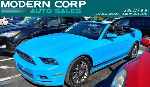 2014 Ford Mustang for sale at Modern Auto Sales in Fort Myers FL