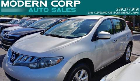 2009 Nissan Murano for sale at Modern Auto Sales in Fort Myers FL
