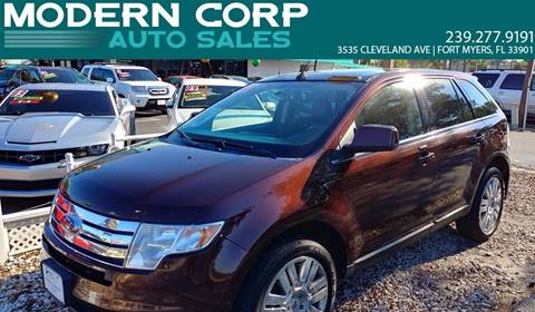 2010 Ford Edge for sale at Modern Auto Sales in Fort Myers FL