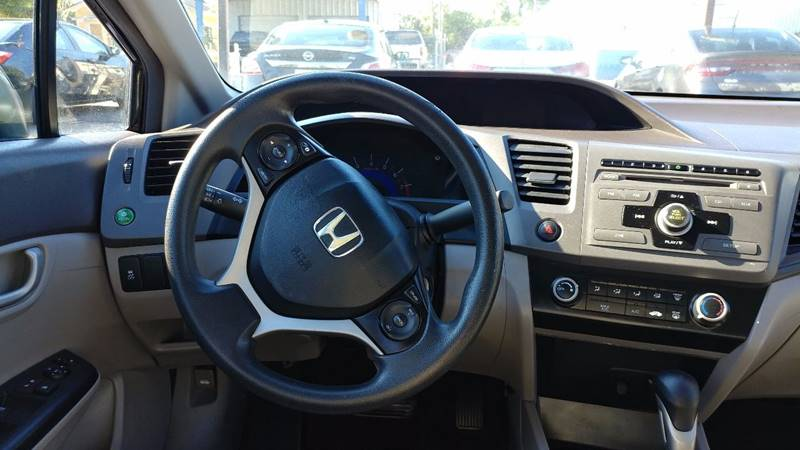 2012 Honda Civic LX 4dr Sedan 5A - Fort Myers FL